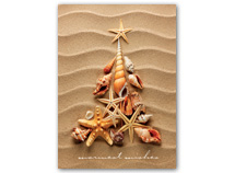 Waves of Warm Wishes Regional Holiday Card